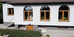 Atyp oken v rodinném domě