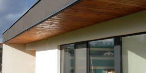 Podbiti + dřevěná terasa